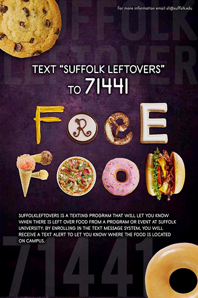 "a poster for the ""Suffolk Leftovers"" program"