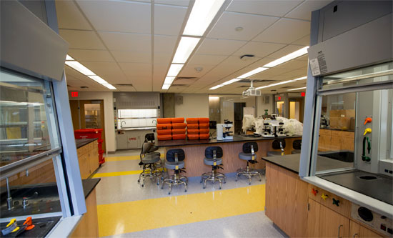A science lab in 20 Somerset