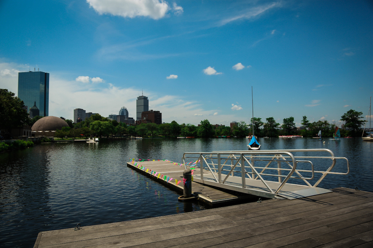 A leisurely stroll along the Esplanade and Charles River in Boston