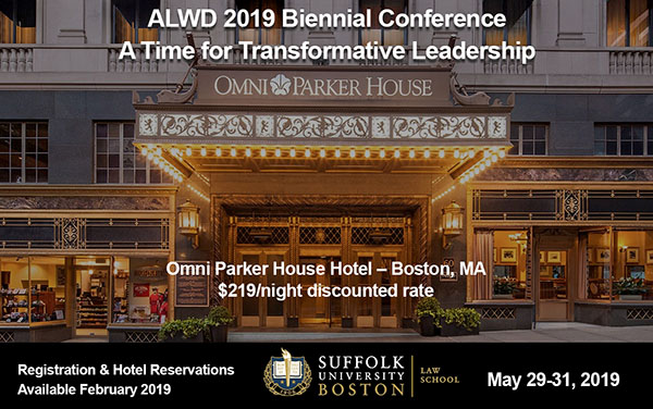 Omni Parker Special ALWD Conference Accomodations for $219 per night