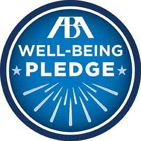 ABA Well-being Pledge Badge