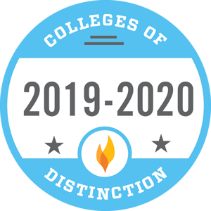 Colleges of Distinction Badge 2019-2020