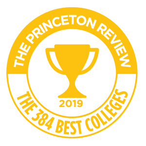 The Princeton Review Best Colleges Badge 2019