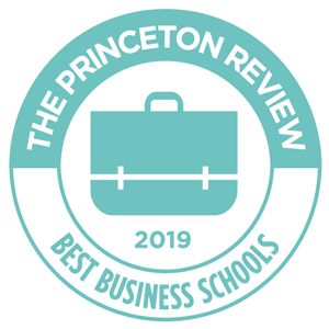 The Princeton Review Top Business School Badge 2019
